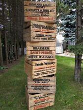 (6er SET) alte Obstkisten rustikale Holzkisten WHISKY Weinkisten Regale Vintage