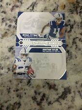 Jonathan Taylor & Michael Pittman 2020 Contenders 2 Round Numbers RN-PT Colts