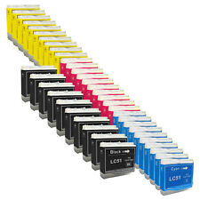40 PACK New LC51 Ink Cartridge for Brother MFC-845CW MFC-850 MFC-860 MFC-885
