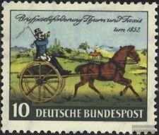 BRD (BR.Deutschland) 160 (kompl.Ausg.) gestempelt 1952 Thurn und Taxis