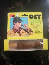 Vintage Olt Crow Call Model #44 turkey locator