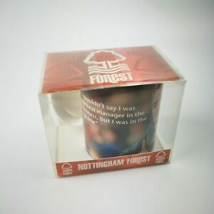 ~ Nottingham Forest FC ~ NFFC ~ Brian Clough Quote Mug ~ Official Merchandise ~