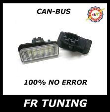 MERCEDES CLS W219 KIT LUCI TARGA A LED CAN BUS 100% NO ERROR BIANCO 6000K
