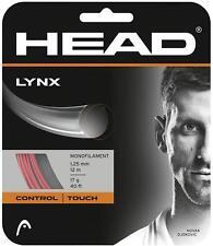 Corde Tennis HEAD Lynx 1.25 n.1 matassina 12m monofilamento rosso