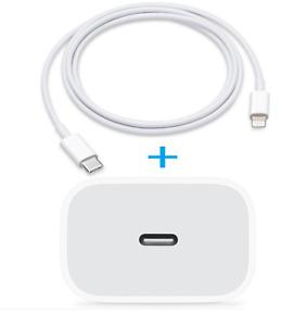 Fuente de Alimentación X Apple IPHONE 12 Pro + Cable USB Type C Cargador Rápido