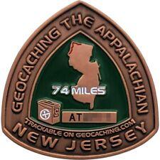 Appalachian Trail 2008 Geocoin - New Jersey, Unactivated