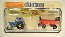 Matchbox Twin Pack TP 28 - TRACTOR AND RED TRAILER  - 1/64  - MOC - 1978
