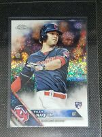2016 Topps Chrome TYLER NAQUIN RC #HMT25 SPARKLE Cleveland Indians ROOKIE CARD