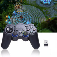 Wireless USB 2.4G Gaming Controller Gamepad Joystick for PC Android TV Box Table