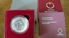 25 Euro Niob 2013 Tunnelbau -3-