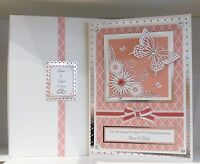 Mother's Day Card Boxed Handmade Large A4 Size & Personalised Mum/Mam/Mom