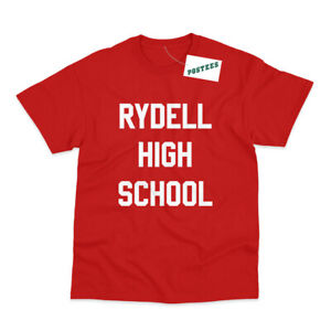 Rydell High School Inspired by Grease Printed T-Shirt