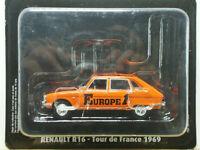 Voiture 1/43e Atlas TOUR DE FRANCE Norev - Renault R16 EUROPE 1 - Caravane 1969