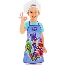 Official PJ Masks Apron Set Kids Children Baking Easter Pancake Day 3-8 Years