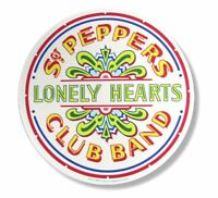 Beatles Sgt Peppers Lonely Hearts Club Band Round Mouse Pad Mat New Official