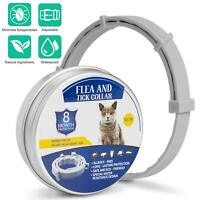 Flea and Tick Collar for Cats With Adjustable Waterproof 8 Month Protection