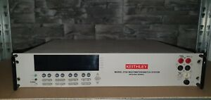 Keithley 2750 Digital Multimeter // SWITCH SYSTEM