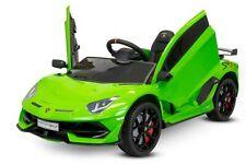Kidcars Lamborghini SVJ Kinder Elektro Auto 2x35W 12V 7Ah 2.4G RC Kinderfahrzeug