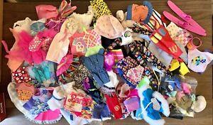 Vintage Barbie Ken Doll Clothes Shoes Lot Swimsuit Shirts Fashion Outfits