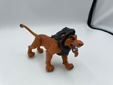 """Disney Lion King Battle Action Scar 6"""" Push Button Figure- play wear and scuffs"""