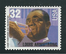 Scott # 2982...32 Cent...Louis Armstrong....5 Stamps