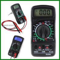 Multimètre Voltmètre Ampèremètre Numérique LCD AC/DC/OHM Volt testeur de courant