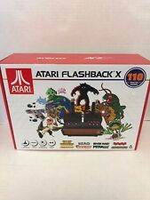 NEW!!! Atari Flashback X (with 110 Games And Two Wired Joystick Controllers)