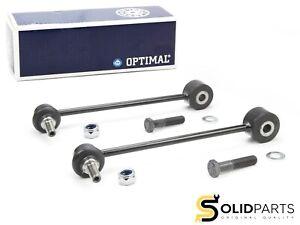 2x Original Optimal Pin-Ended Coupling Rod Screw Set Rear VW Caddy 3 4