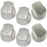 PACK OF SIX STOVES 4 HOB & 2 OVEN CONTROL KNOBS 012640584 082589105