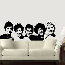 One Direction Five boys home decor vinyl Wall sticker Wallpaper wall decals