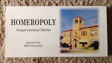 2000 HOMEROPOLY MONOPOLY BOARDGAME, HOMER, LA, LOUISIANA, COMPLETE GAME