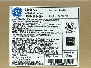 GE  LRXR410840PH LED Luminaires / Free FedEx Ground Shipping / New in box