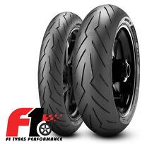 Coppia Gomme Moto Pirelli Diablo Rosso 3 120/70-17 (58W) + 180/55-17 (73W) [4G]