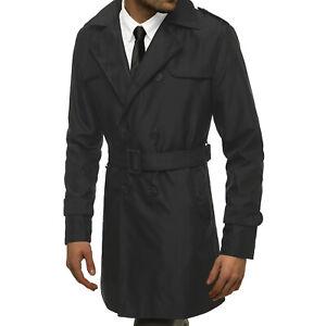 Wintermantel Mantel Sakko Jacke Coat Stehkragen Casual Classic OZONEE 624 Herren