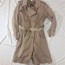 Mens Burberry Double Breasted Trench Coat