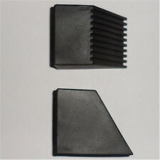 4 ea PVC External End Covers for 2 x 2 Square Tubing - 30 Degree Offset End