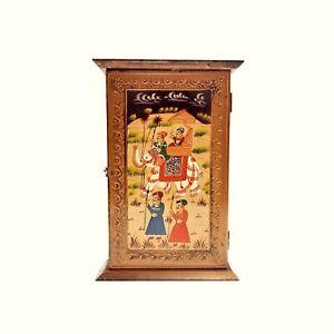 Wooden Cabinet Key Holder Antique Designer Key Holders for Home Decoration