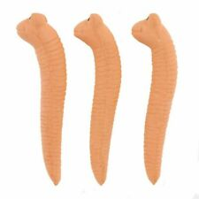 Terracotta Water Sensor  Set of 3 'Willy the worm' Gift for Gardeners