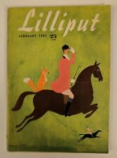 Lilliput UK Magazine February 1951 Vol 28 No 2 #164 Arthur C Clarke Story