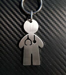 DOCTOR NURSE MEDICAL NHS Keyring Keychain Key Fob