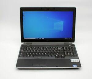 DELL LATITUDE E6530 INTEL i7 2.9GHZ 8GB RAM 256GB SSD DVDRW WIN10 NVIDIA WEBCAM