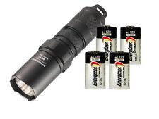 NITECORE MT1C CREE XP-G2 R5 LED Flashlight 345 Lumen & Energizer CR123 Batteries