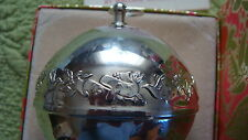 Wallace 1977 Silver Plate Bell/Ornament