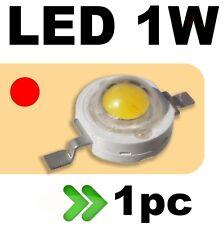 535/1# LED 1W  rouge --- 1PC