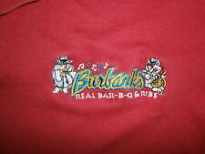 BURBANKS BAR-B-Q RIBS POLO SHIRT Gary Radio Host Cincinnati Barbeque Blues Pigs