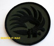 French Army Foreign Legion Paratrooper Metro Patch Subdued FLIGHTSUIT Parachute