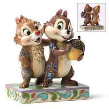 Disney Traditions 4031475 Chip & Dale Nutty Buddies Figurine NEW in BOX 18930