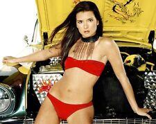 Danica Patrick NASCAR Cup Series Race Car Driver & Bikini Model 8x10 Color Photo