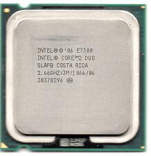 Intel core 2 duo E7300, 3M cache, 2,667 Ghz, 1066 Mhz FSB socket 775