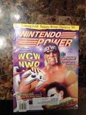 Vintage NINTENDO POWER Magazine Issue Vol. #105 WCW Vs. NWO N64